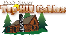 Top Hill Cabins Logo