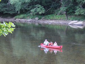 Canoeing Down the Clarion River
